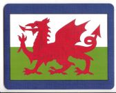 WELSH DRAGON MOUSEMAT